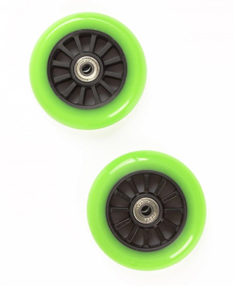 Billede af My Hood - 2 Hjul Til Trick Løbehjul - 100 Mm - Lime Sort