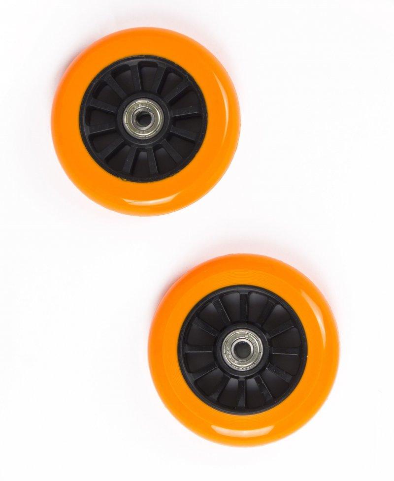 Billede af My Hood - 2 Hjul Til Trick Løbehjul - 100 Mm - Orange Sort