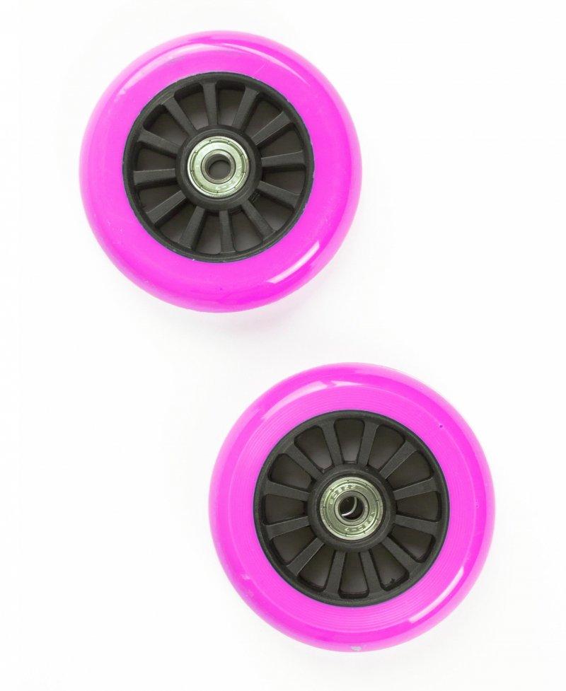 Billede af My Hood - 2 Hjul Til Trick Løbehjul - 100 Mm - Pink Sort