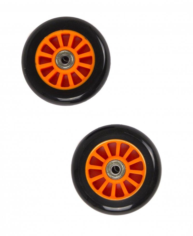 Billede af My Hood - 2 Hjul Til Trick Løbehjul - 100 Mm - Sort Orange