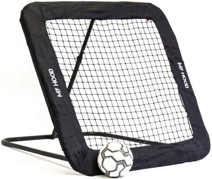 Image of   My Hood - Fodbold Rebounder Trampolin - Str. L - 130x130 Cm.