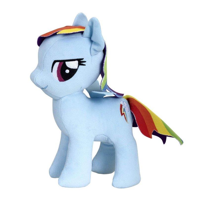 My Little Pony - Blød Pony Bamse - Rainbow Dash - 25 Cm