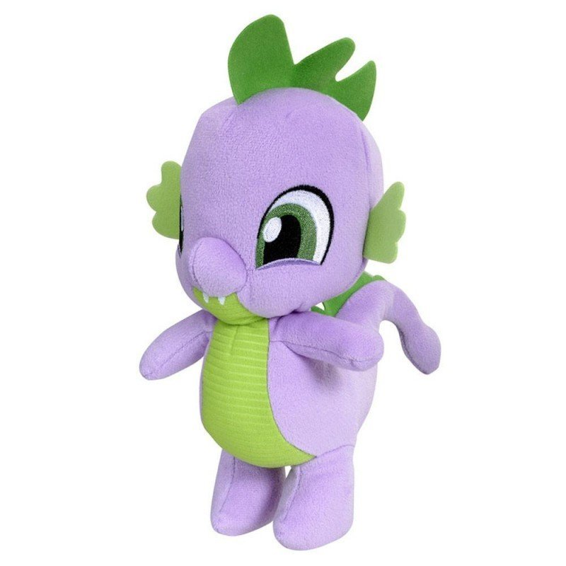 My Little Pony - Blød Drage Bamse - Spike - 25 Cm