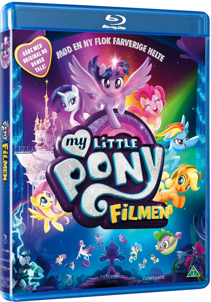 Image of   My Little Pony Filmen / My Little Pony The Movie - Blu-Ray