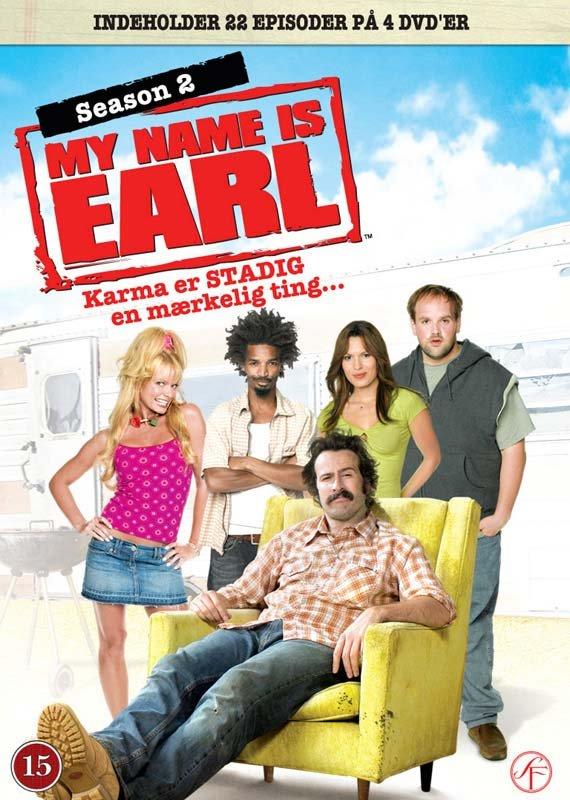 My Name Is Earl - Sæson 2 - DVD - Tv-serie