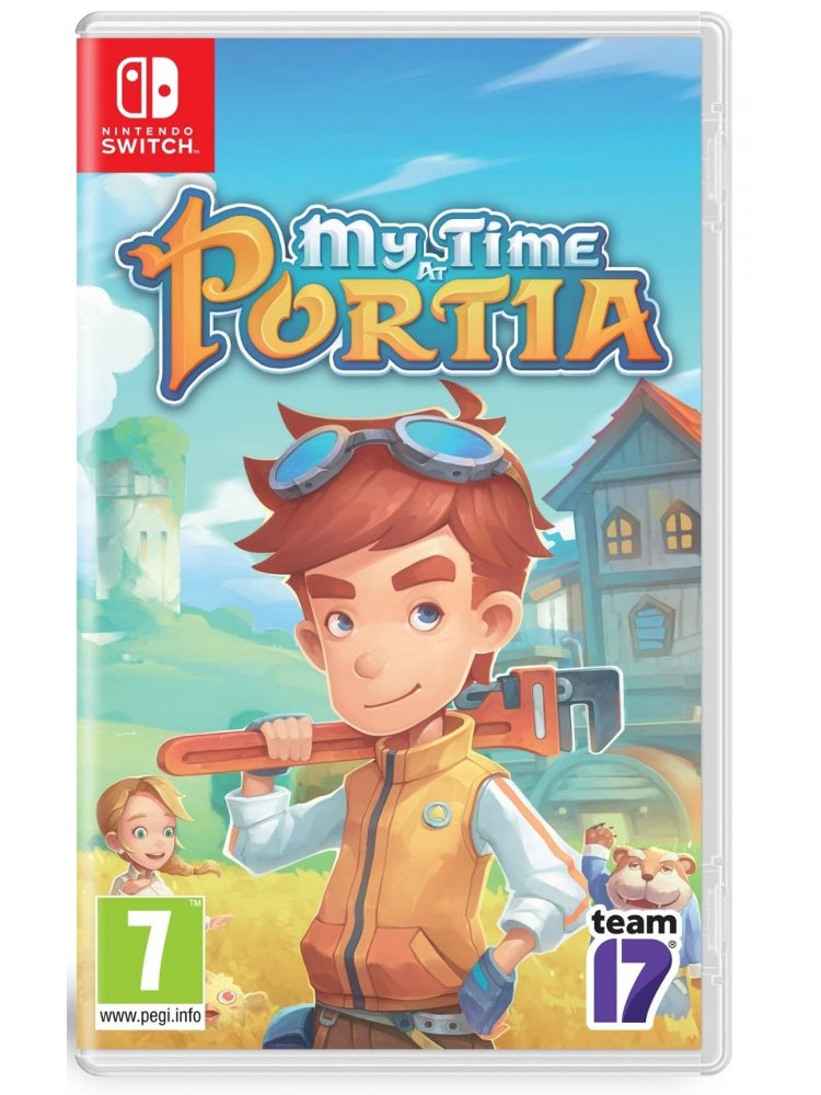 Image of   My Time At Portia - Nintendo Switch