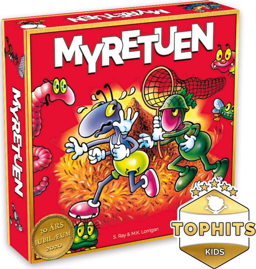 Myretuen Brætspil - Sjovt Spil Til 2-4 Personer