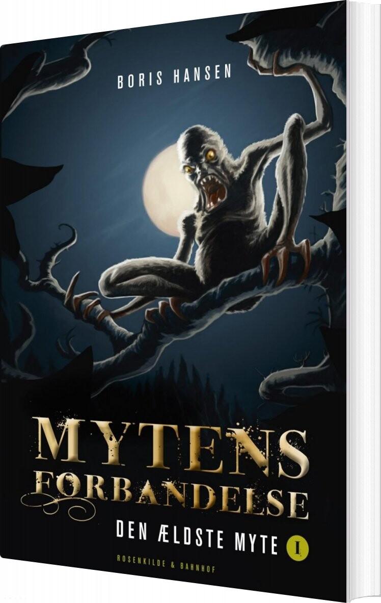 Billede af Mytens Forbandelse - Boris Hansen - Bog