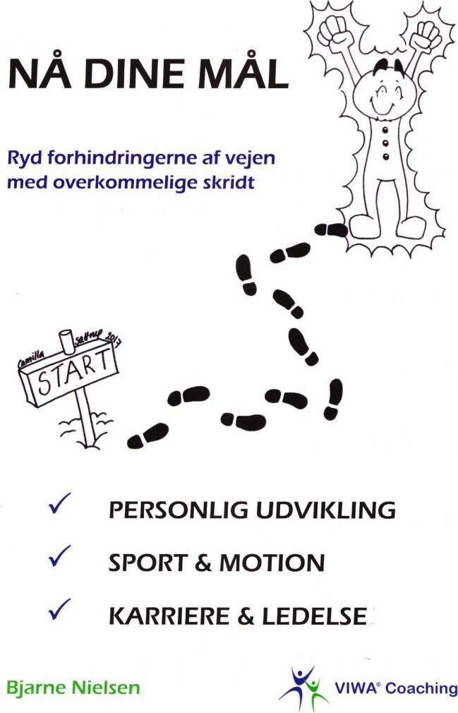 Image of   Nå Dine Mål - Bjarne Nielsen - Bog