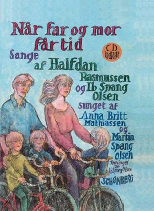 Image of   Når Far Og Mor Får Tid - Ib Spang Olsen - Bog