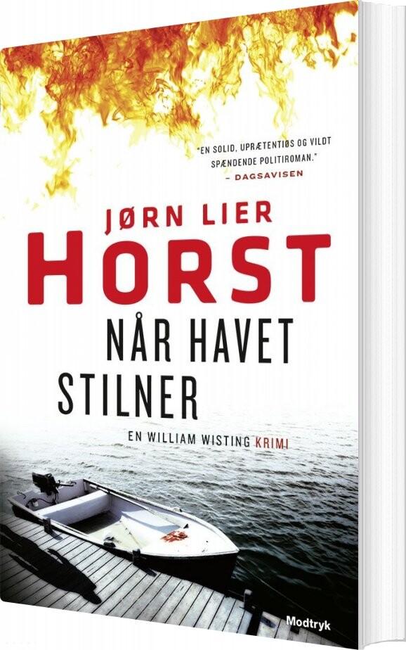 Når Havet Stilner - Jørn Lier Horst - Bog