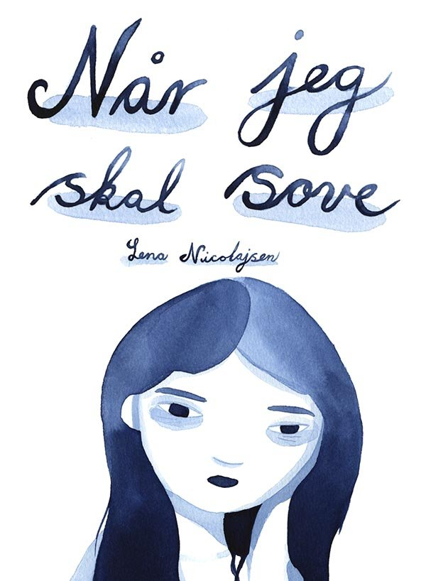 Billede af Når Jeg Skal Sove - Lena Nicolajsen - Tegneserie
