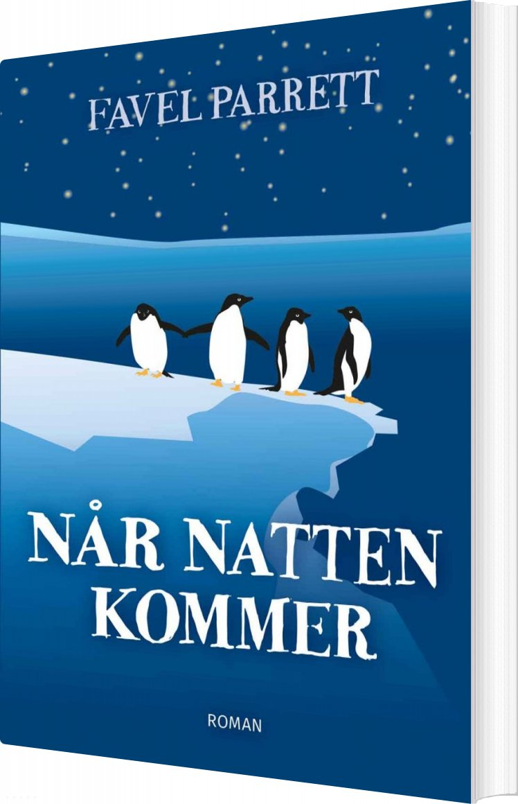 Image of   Når Natten Kommer - Favel Parrett - Bog
