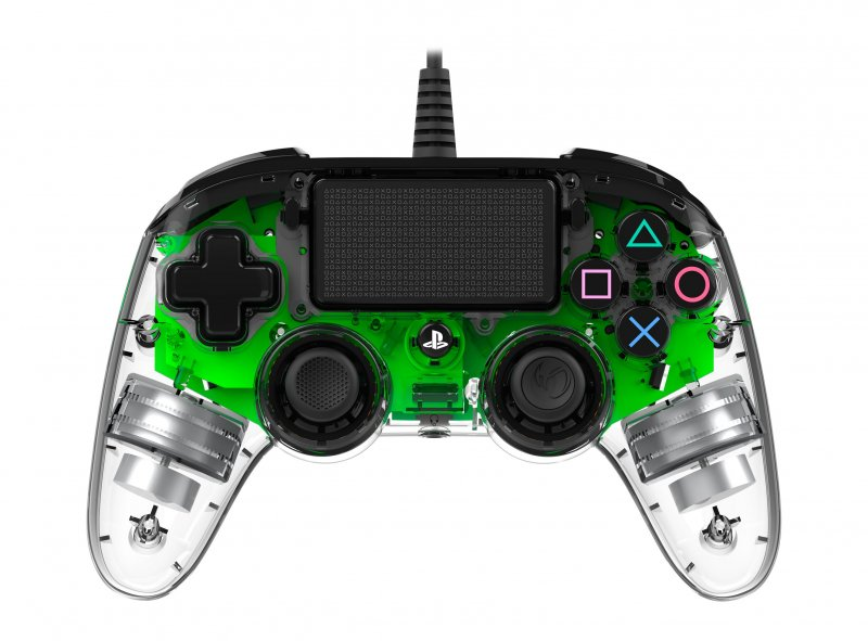Image of   Nacon Compact Ps4 Controller Med Led-lys - Grøn