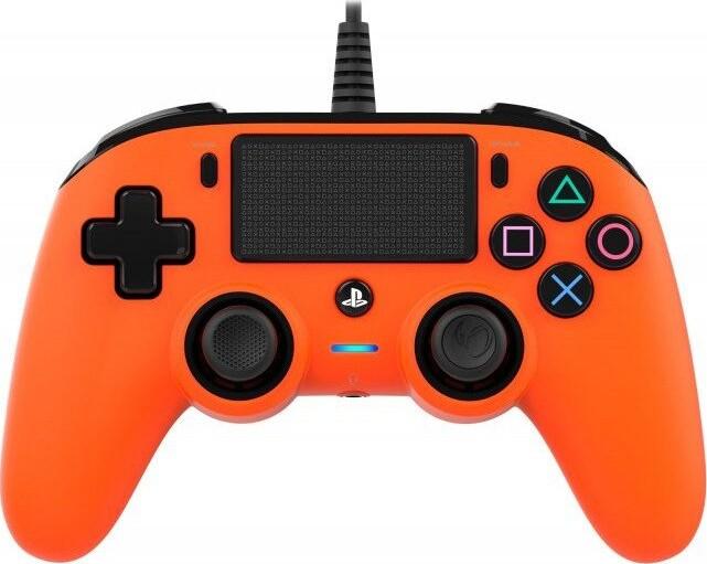 Image of   Nacon Compact Ps4 Controller - Orange