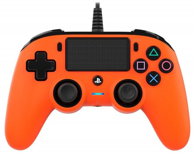 Image of   Nacon Compact Ps4 Controller - Orange
