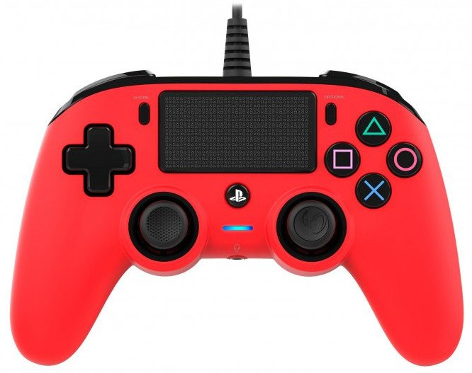 Image of   Nacon Compact Ps4 Controller - Rød