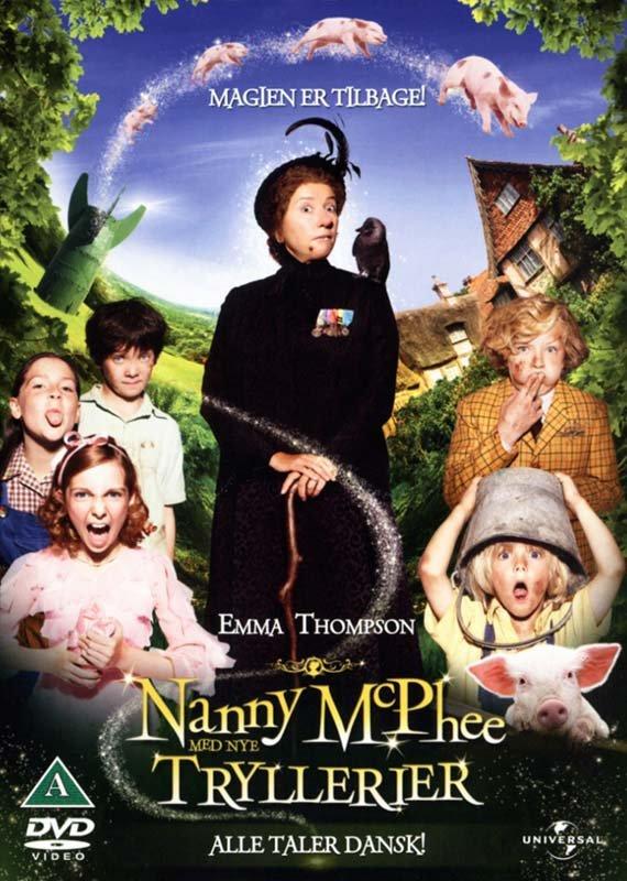 Billede af Nanny Mcphee 2 - Med Nye Tryllerier - DVD - Film
