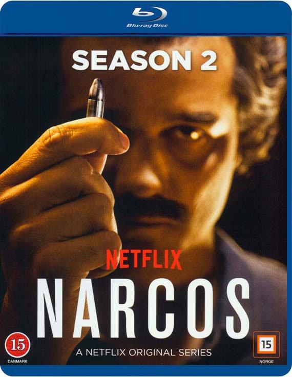 Narcos - Sæson 2 - Blu-Ray - Tv-serie