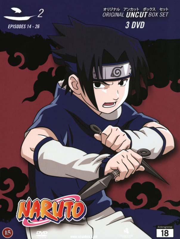 Billede af Naruto Box 2 - Japansk Udgave - Original Uncut - Episode 14-26 - DVD - Film