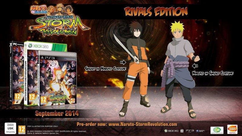 Naruto Shippuden Ultimate Ninja Storm Revolution - Rivals Edition - Xbox 360