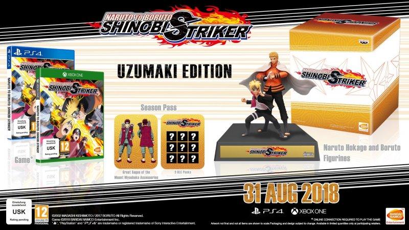 Naruto To Boruto: Shinobi Striker Uzumaki (collectors Edition) - PS4