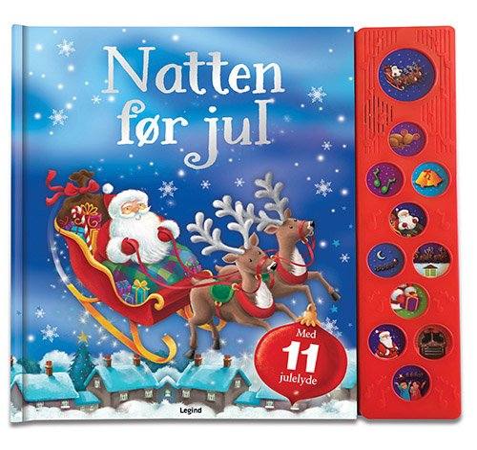 Image of   Natten Før Jul - Diverse - Bog