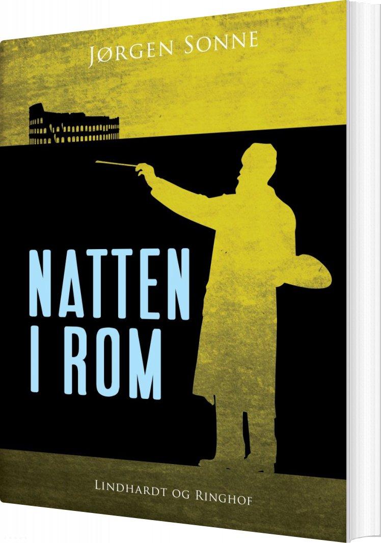 Image of   Natten I Rom - Jørgen Sonne - Bog