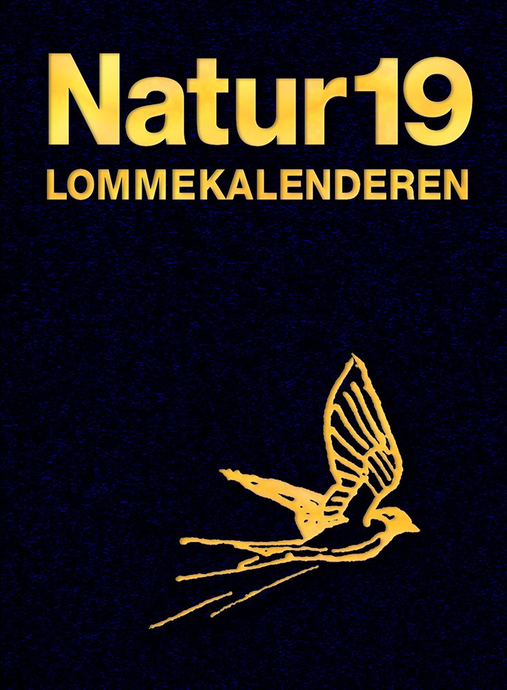 Image of   Naturlommekalenderen 2019 - Henrik Carl - Bog