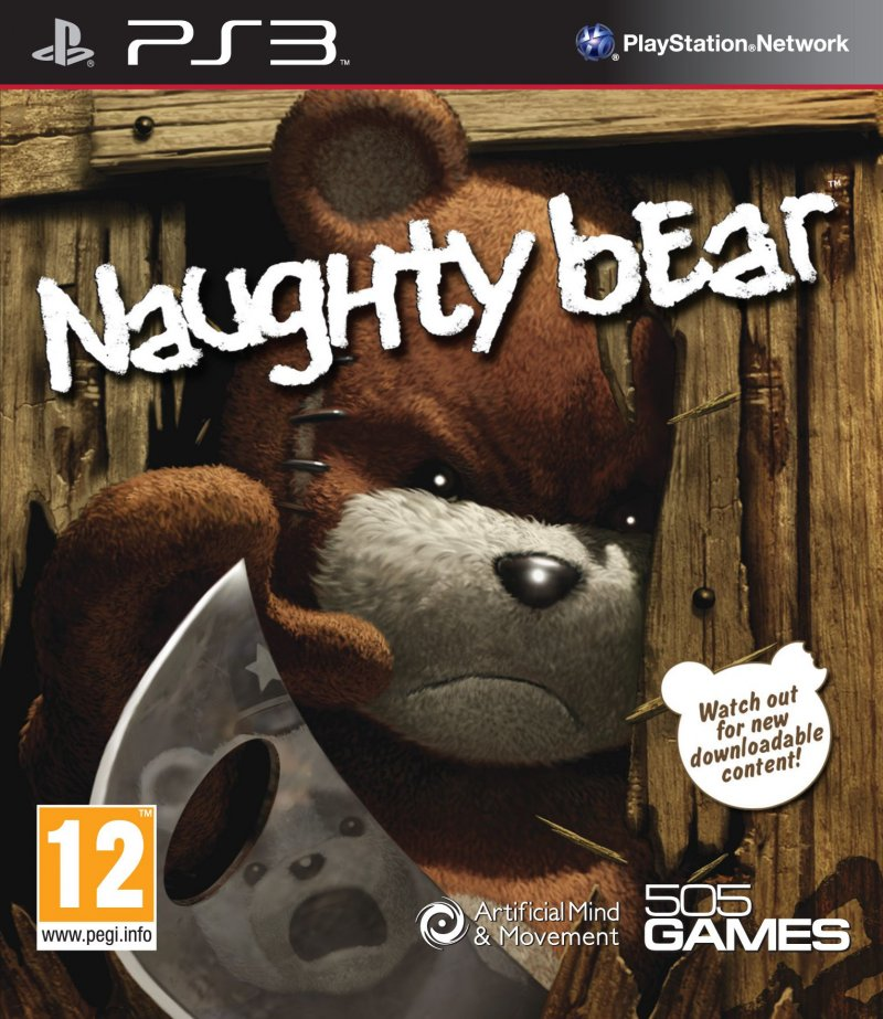 Image of   Naughty Bear (import) - PS3