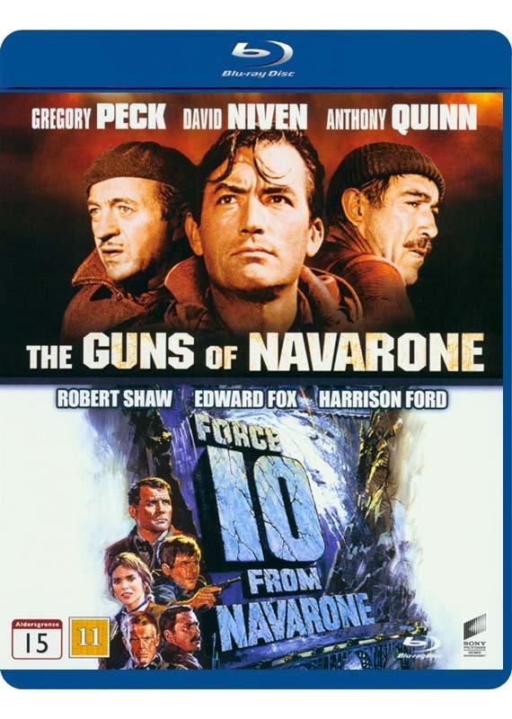 Navarones Kanoner // Styrke 10 Fra Navarone - Blu-Ray