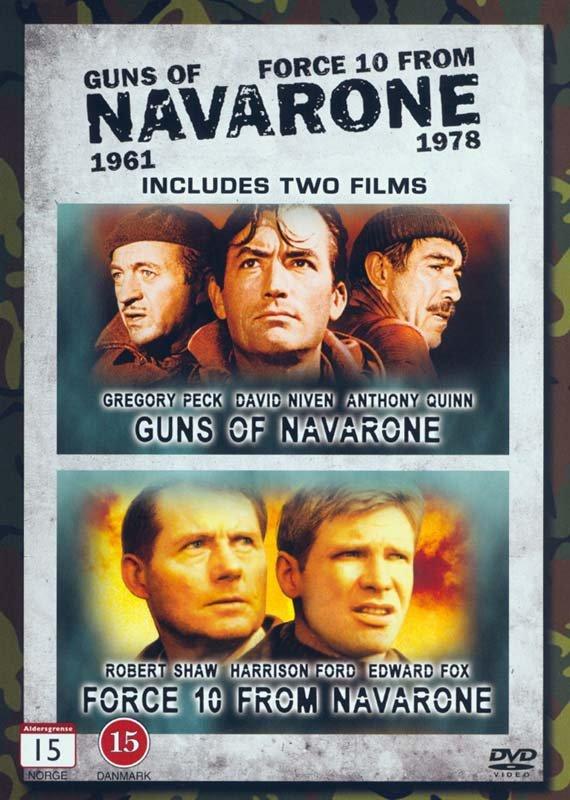 Image of   Navarones Kanoner // Styrke 10 Fra Navarone - DVD - Film