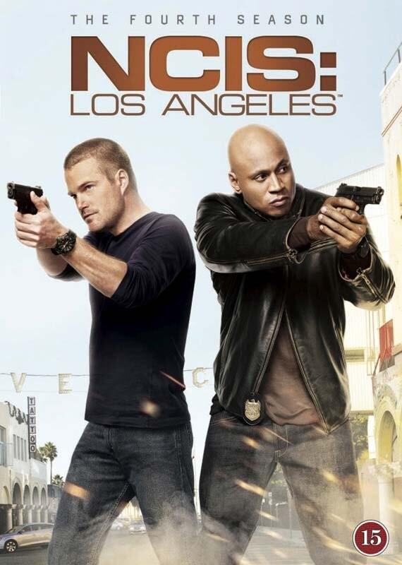 Image of   Ncis: Los Angeles - Sæson 4 - DVD - Tv-serie