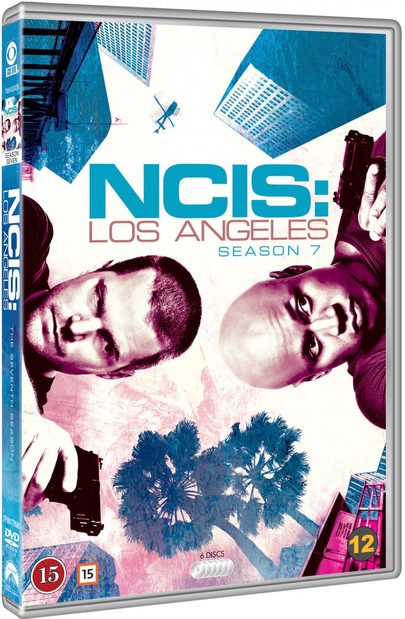 Image of   Ncis - Los Angeles - Sæson 7 - DVD - Tv-serie