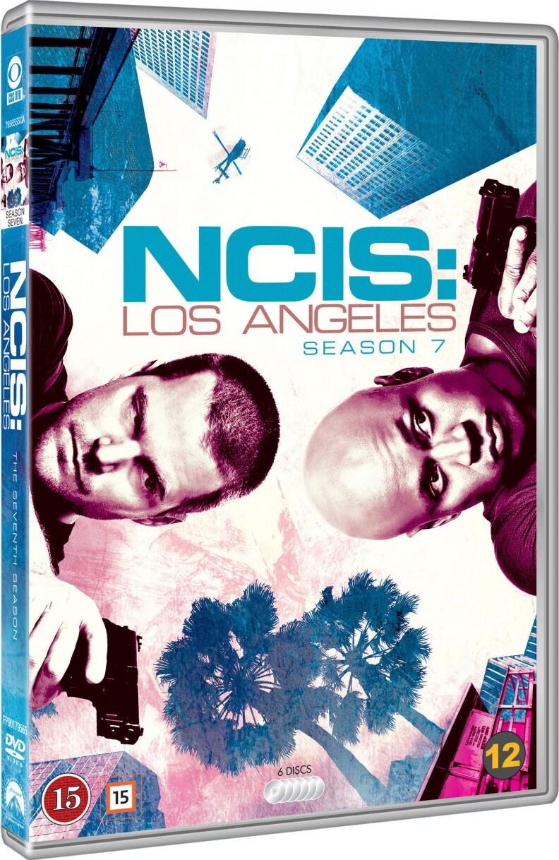 Image of   Ncis - Los Angeles - Sæson 7 - DVD - Tv-serie
