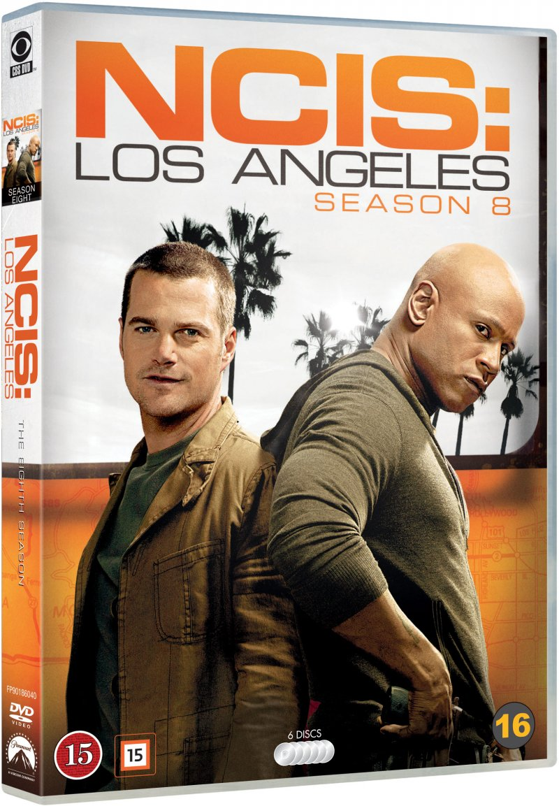 Image of   Ncis - Los Angeles - Sæson 8 - DVD - Tv-serie