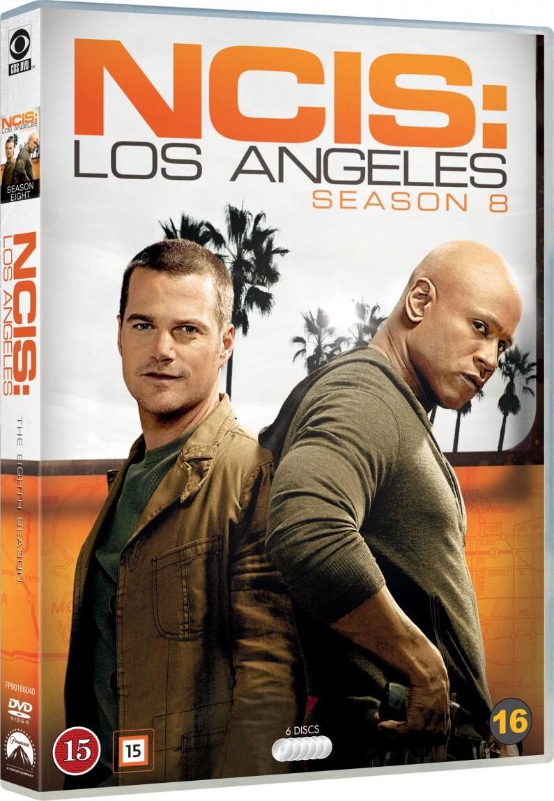 Image of   Ncis - Los Angeles - Sæson 8 - DVD - Tv-serie