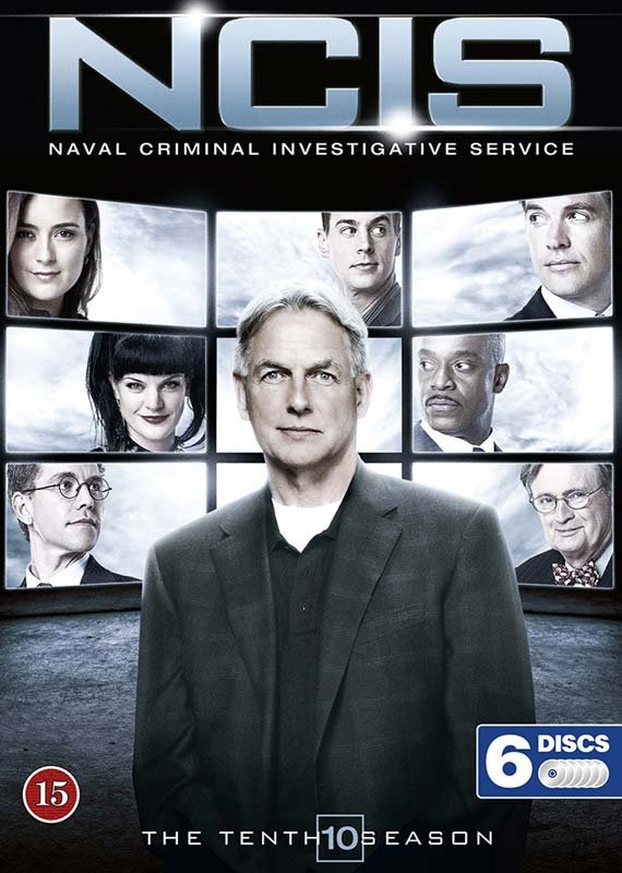 Image of   Ncis - Sæson 10 - DVD - Tv-serie