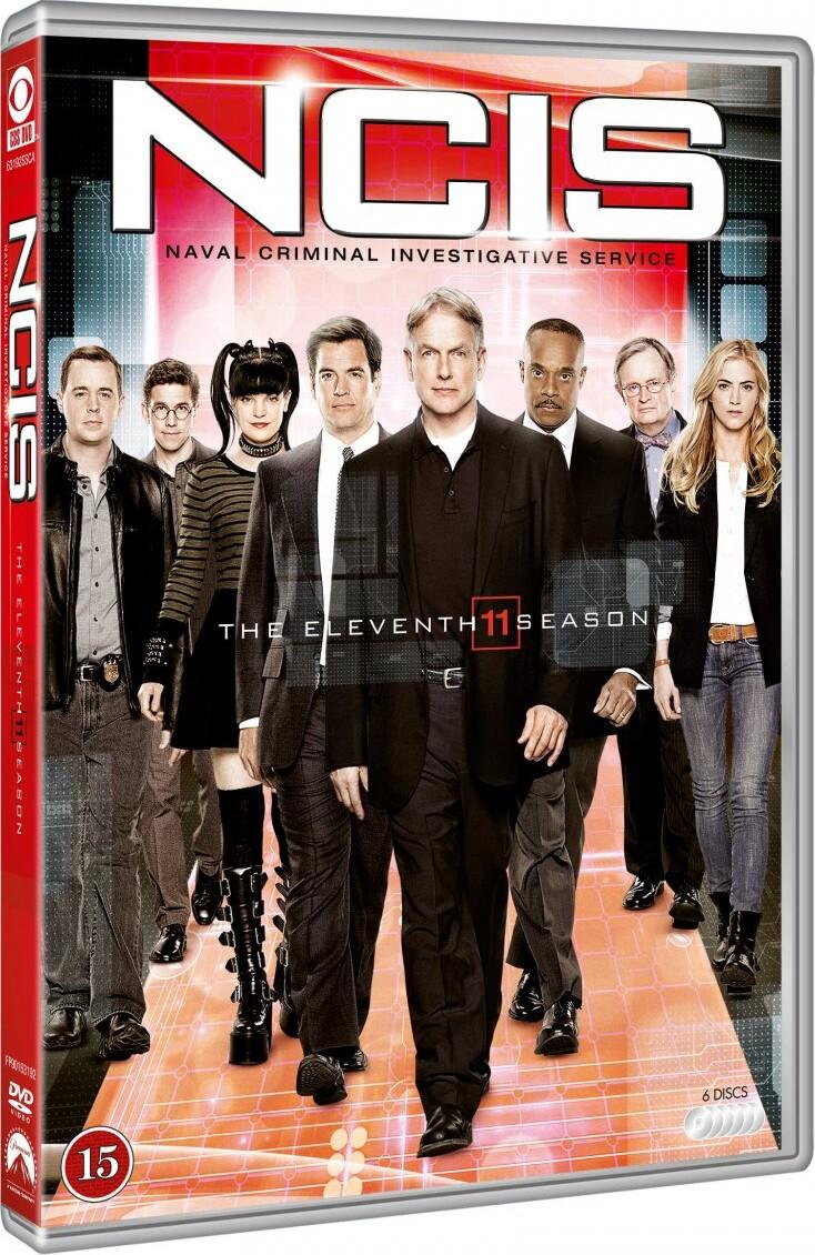 Image of   Ncis - Sæson 11 - DVD - Tv-serie