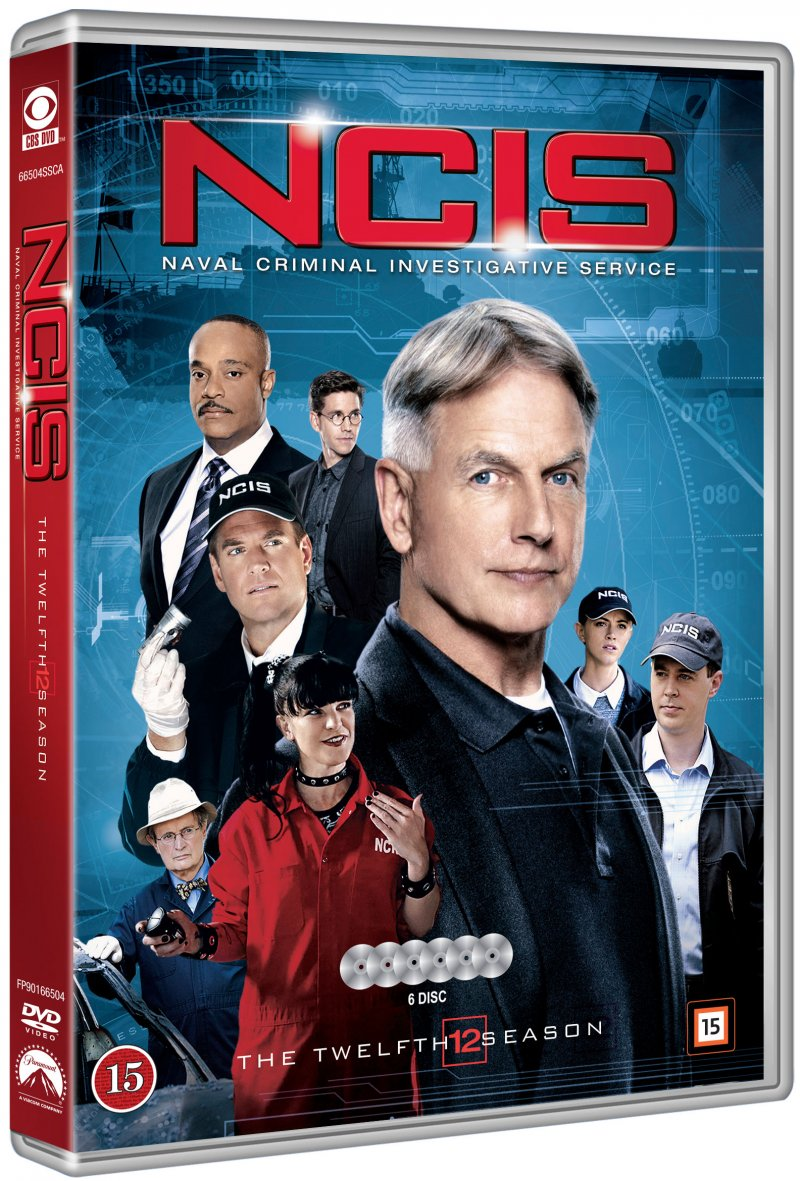 Image of   Ncis - Sæson 12 - DVD - Tv-serie