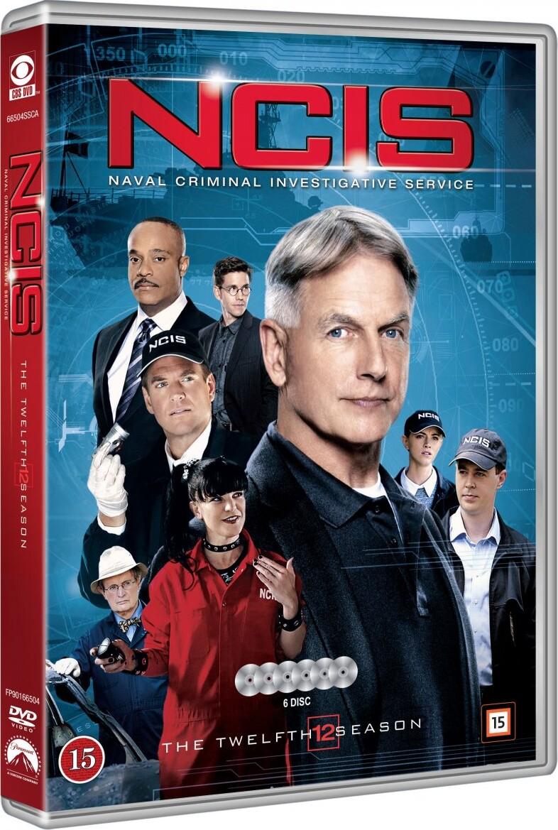 Image of   Ncis - Sæson 12 - DVD - Tv-serie