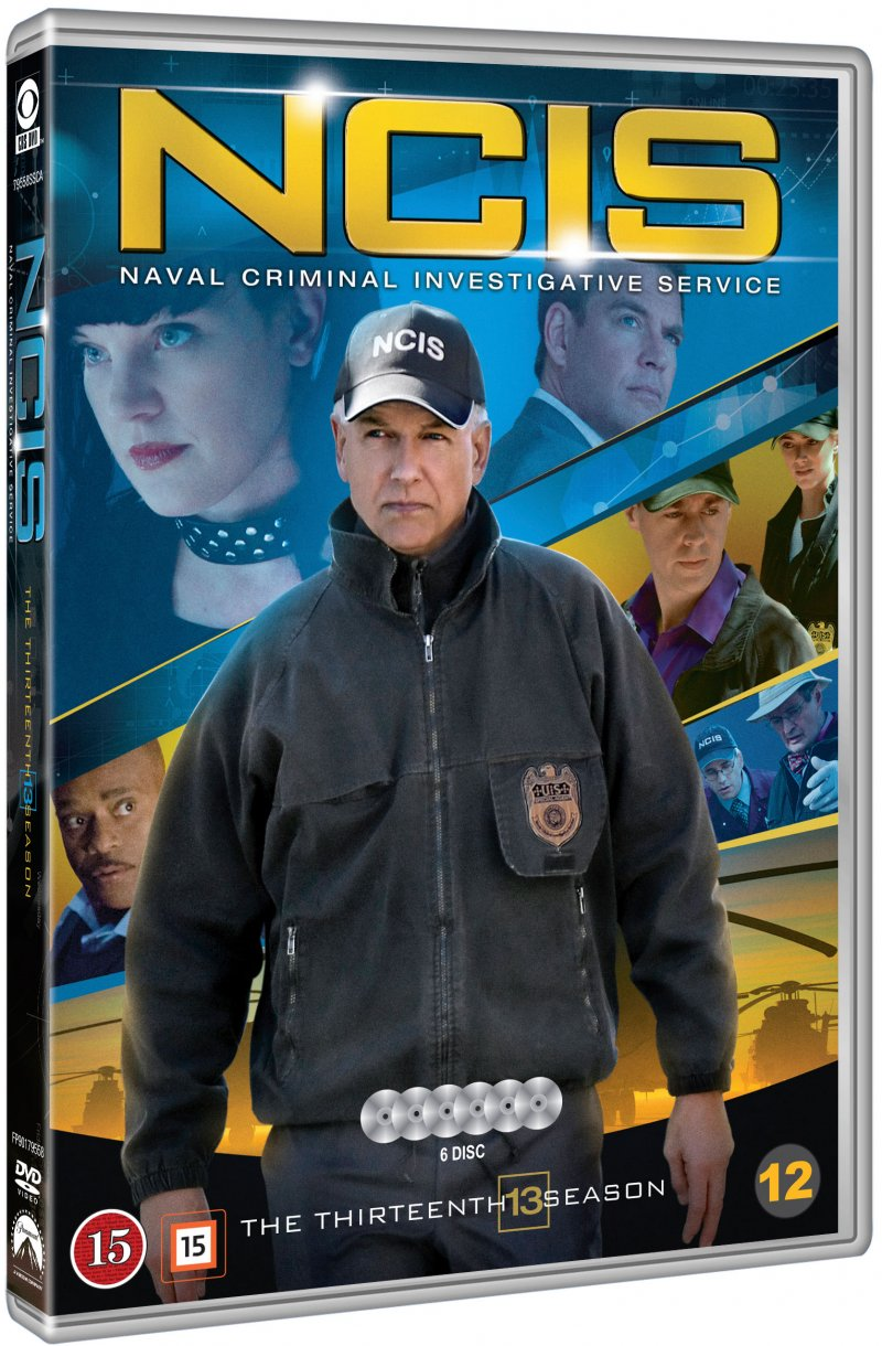 Image of   Ncis - Sæson 13 - DVD - Tv-serie