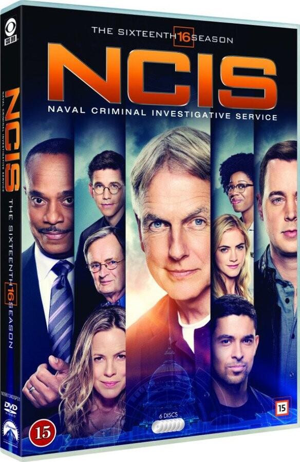 Image of   Ncis - Sæson 16 - DVD - Tv-serie