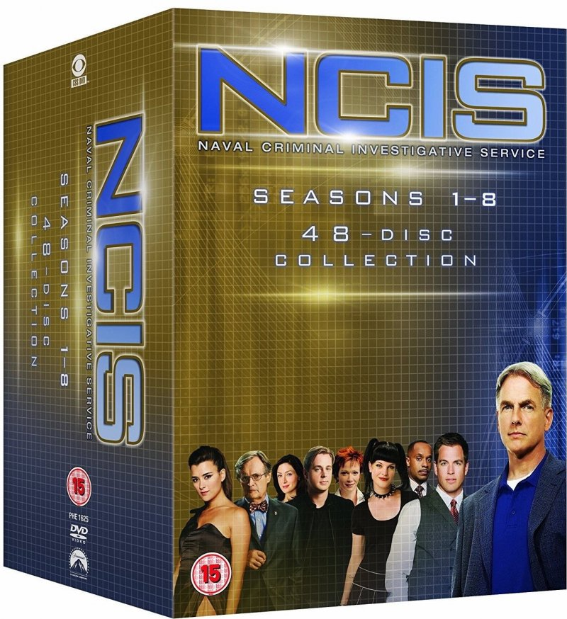 Image of   Ncis: Sæson 1-8 - DVD - Tv-serie