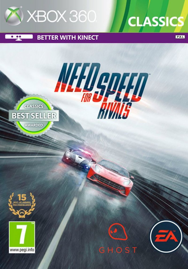 Need For Speed: Rivals (classics)  - Xbox 360