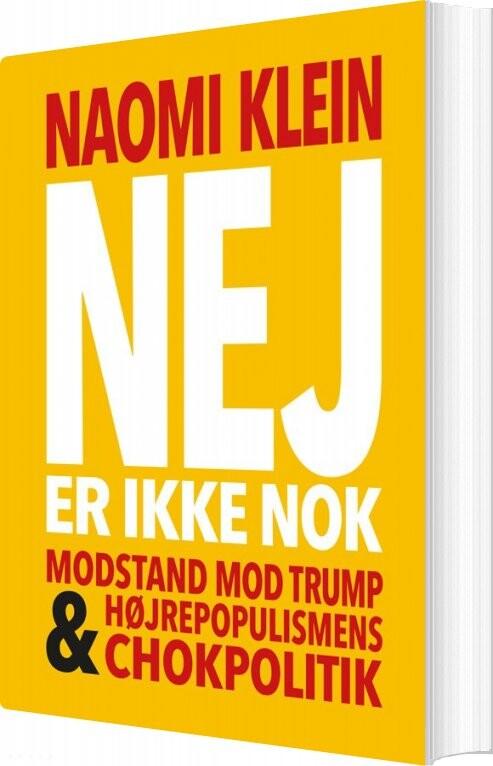 Nej Er Ikke Nok - Naomi Klein - Bog