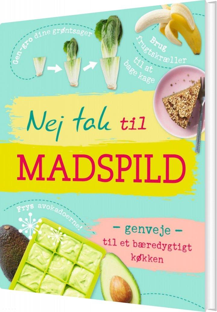 Nej Tak Til Madspild - Bog
