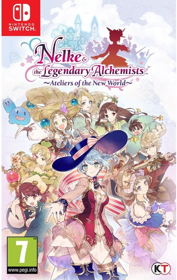 Image of   Nelke & The Legendary Alchemists: Ateliers Of The New World - Nintendo Switch