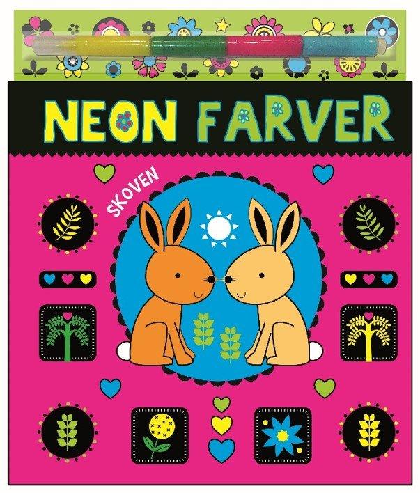 neon, tusser, malebog, dyr