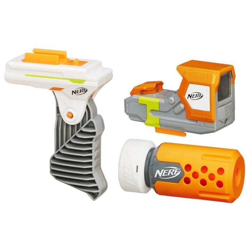 Elite Modulus Stealth Ops Upgrade, hasbro nerf, nerfgun, nerf skyder, nerf legetøj, nerf gun, udendørslegetøj, nerf blaster, legetøjsvåben, legetøjspistoler